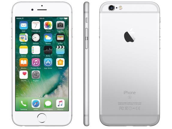 Celular Smartphone Apple iPhone 6s 32gb Prata - 1 Chip