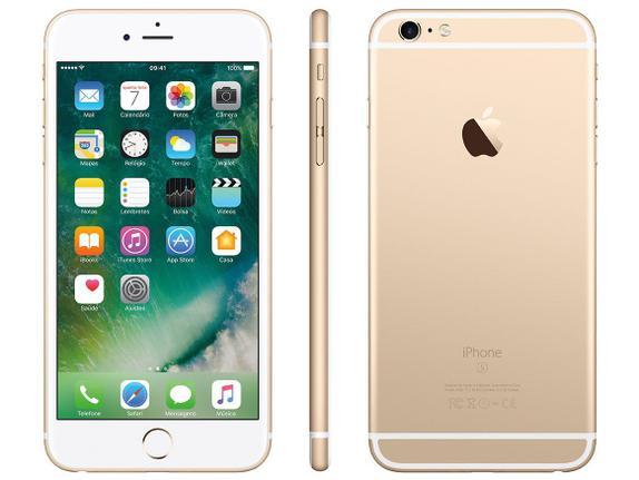 Celular Smartphone Apple iPhone 6s Plus 128gb Dourado - 1 Chip