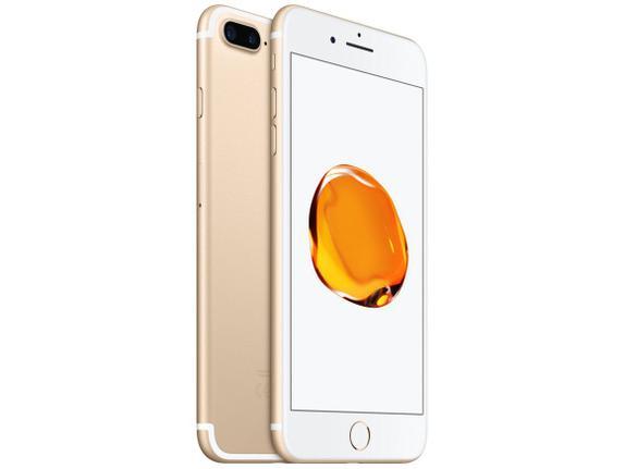 Celular Smartphone Apple iPhone 7 Plus 32gb Dourado - 1 Chip