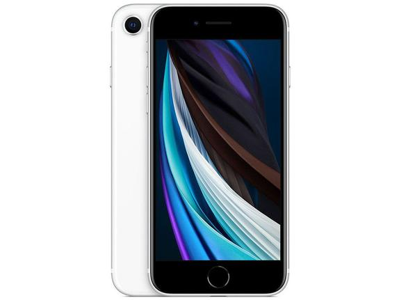 Celular Smartphone Apple iPhone Se 2 128gb Branco - 1 Chip