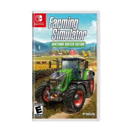 Jogo Farming Simulator - Switch - Focus Home Interactive
