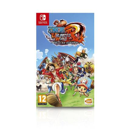 Jogo One Piece Unlimited World Red Deluxe Edition - Switch - Bandai Namco Games