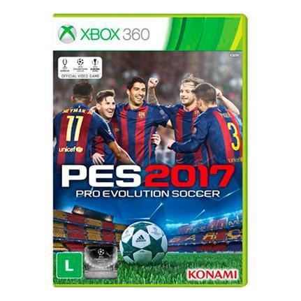 Jogo Pes 2017 - Xbox 360 - Konami