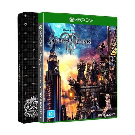 Jogo Kingdom Hearts Iii - Steelbook - Xbox One - Square Enix