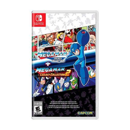 Jogo Mega Man X Legacy Collection 1+2 - Switch - Capcom