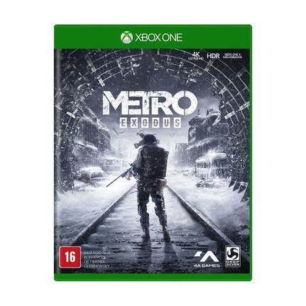 Jogo Metro Exodus - Xbox One - Deep Silver