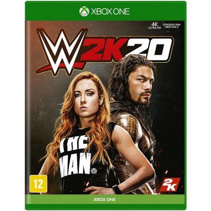 Jogo Wwe 2k20 - Xbox One - 2k Games