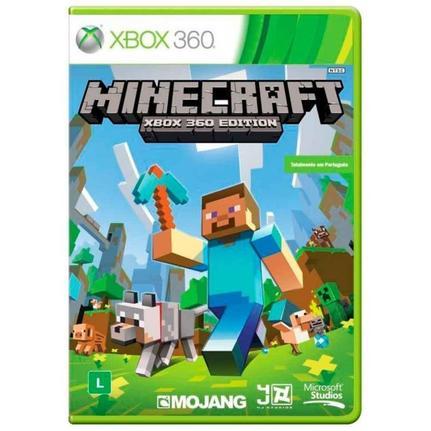 Jogo Minecraft - Xbox 360 - Microsoft Game