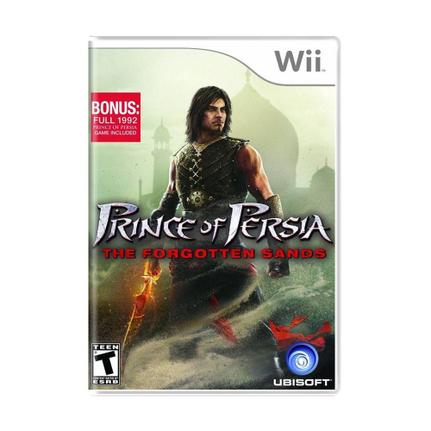 Jogo Prince Of Persia: The Forgotten Sands - Wii - Ubisoft
