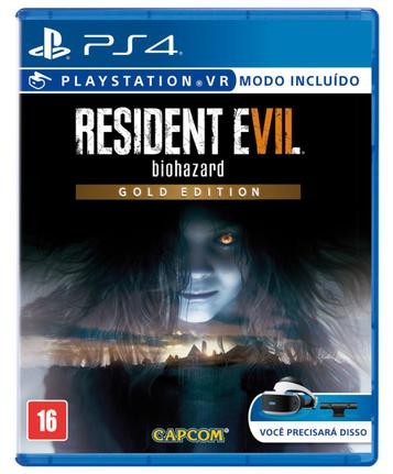 Jogo Resident Evil 7 Biohazard Gold Edition - Playstation 4 - Capcom