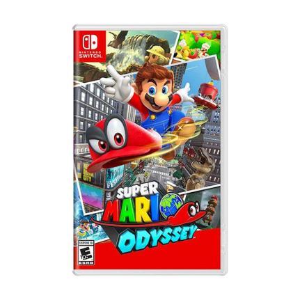 Jogo Super Mario Odyssey - Switch - Nintendo