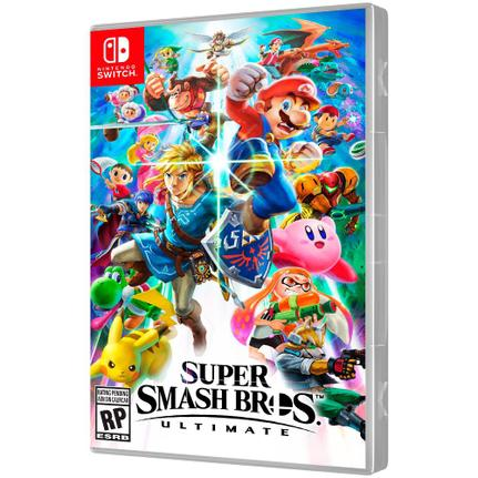 Jogo Super Smash Bros - Ultimate Edition - Switch - Nintendo