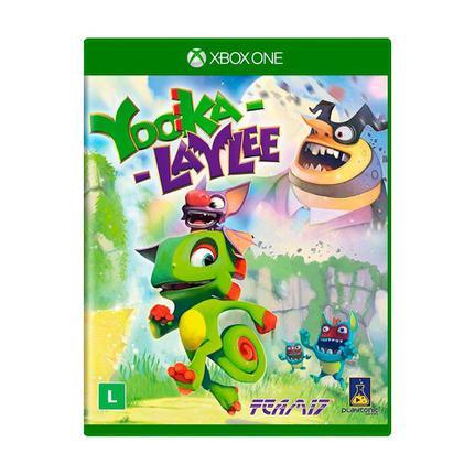 Jogo Yooka-laylee - Xbox One - Microsoft Game