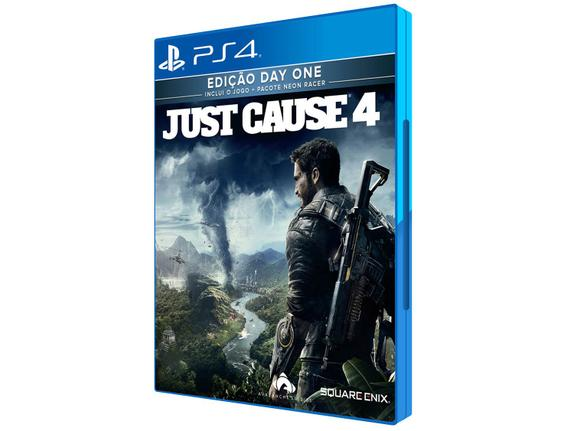 Jogo Just Cause 4 - Day One Edition - Playstation 4 - Square Enix