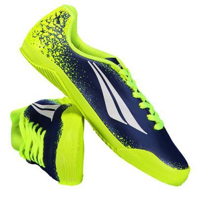 78d7f0b1c27b9 Imagem de Kit Penalty Atletas Do Futuro VII Infantil Azul - Chuteira Futsal  e Meião