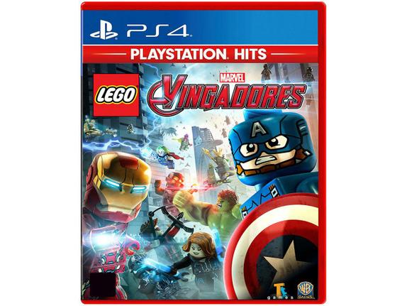 Jogo Lego Vingadores Hits - Playstation 4 - Warner Bros Interactive Entertainment