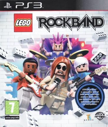 Jogo Lego Rock Band - Playstation 3 - Warner Bros Interactive Entertainment