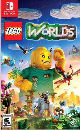 Jogo Lego Worlds - Switch - Warner Bros Interactive Entertainment