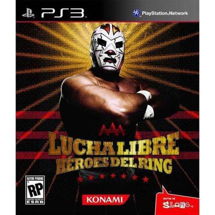 Jogo Lucha Libre Aaa - Heroes Del Ring - Playstation 3 - Konami