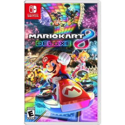 Jogo Mario Kart 8 Deluxe - Switch - Nintendo