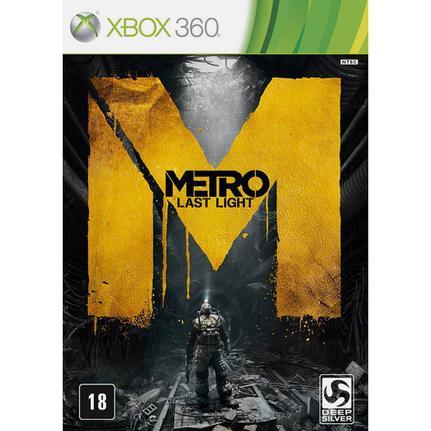 Jogo Metro: Last Light - Limited Edition - Xbox 360 - Deep Silver