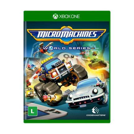 Jogo Micromachines World Series - Xbox One - Codemasters