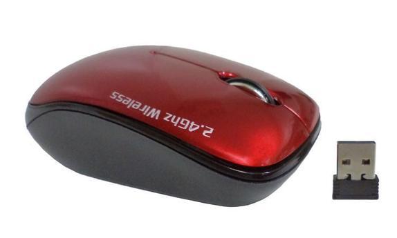 Mouse Wireless Óptico Led 1600 Dpis Gt W3c Goldentec