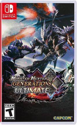 Jogo Monster Hunter Generations - Switch - Capcom