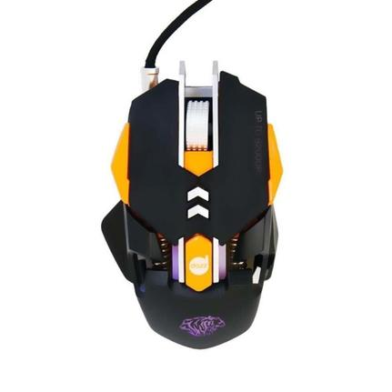 Mouse Usb Óptico Led 6200 Dpis Thundertank 624647 Dazz