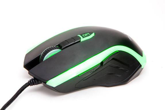 Mouse Usb Óptico Led 3200 Dpis Gt Gaming Goldentec