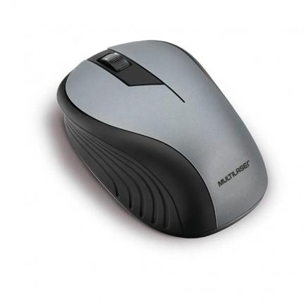 Mouse Usb Laser Preto Mo00001ml Multilaser