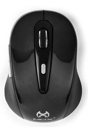 Mouse Wireless Óptico Led 1200 Dpis Plug e Play Preto Mo-me91 Mox