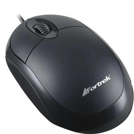 Mouse Usb Óptico Led 800 Dpis Lite Oml-101 Fortrek