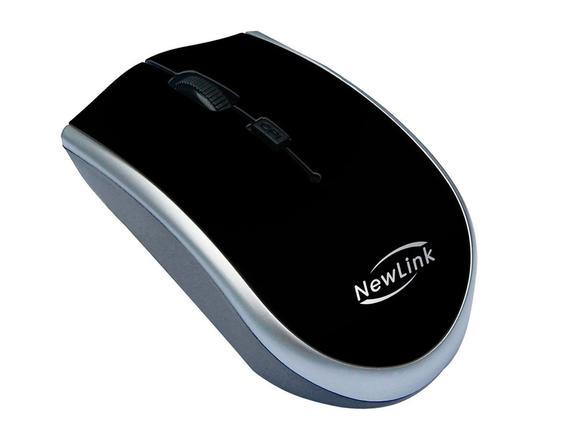 Mouse Wireless Óptico Led 1600 Dpis Start Mo202 Newlink