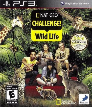 Jogo Nat Geo Challenge: Wild Life - Playstation 3 - D3publisher