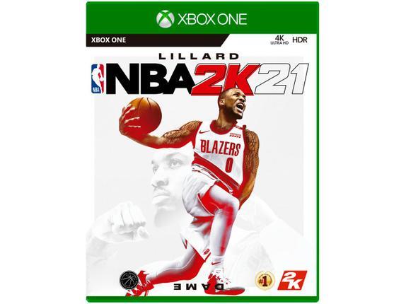 Jogo Nba 2k21 - Xbox One - 2k Sports