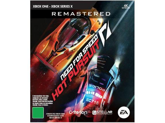 Jogo Need For Speed: Hot Pursuit Remastered - Xbox One - Ea Games