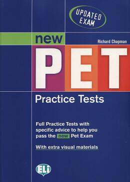 New pet practice tests with key + 2 cds - European language