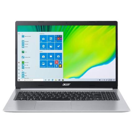 """Notebook - Acer A515-54-542r I5-10210u 1.60ghz 8gb 128gb Híbrido Intel Hd Graphics Windows 10 Home Aspire 5 15,6"""" Polegadas"""