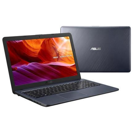"Notebook - Asus X543ma-go596t Celeron N4000 1.10ghz 4gb 500gb Padrão Intel Hd Graphics 600 Windows 10 Home X543 15,6"" Polegadas"
