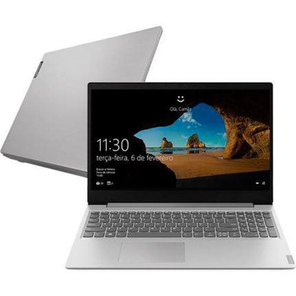 "Notebook - Lenovo 81mv001bge I7-8565u 1.80ghz 8gb 1tb Padrão Geforce Mx110 Windows 10 Home Ideapad S145 15,6"" Polegadas"