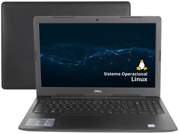 "Notebook - Dell I15-3584-d10p I3-7020u 2.30ghz 4gb 1tb Padrão Intel Hd Graphics 620 Linux Inspiron 15,6"" Polegadas"