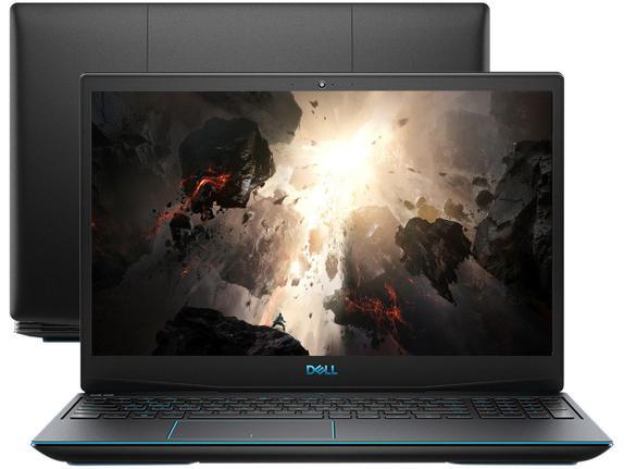 """Notebookgamer - Dell G3-3590-a40p I5-9300h 8gb 256gb Ssd Geforce Gtx 1050 Windows 10 Professional Gaming 15,6"""" Polegadas"""