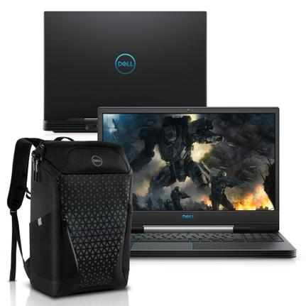 "Notebookgamer - Dell G5-5590-a50bp I5-9300h 2.40ghz 8gb 256gb Ssd Geforce Gtx 1650 Windows 10 Home Gaming 15,6"" Polegadas"