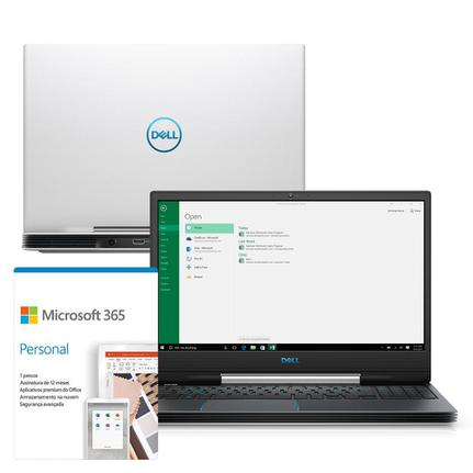 "Notebookgamer - Dell G5-5590-m73b I7-9750h 2.60ghz 16gb 512gb Ssd Geforce Gtx 1660 Ti Windows 10 Home Gaming 15,6"" Polegadas"
