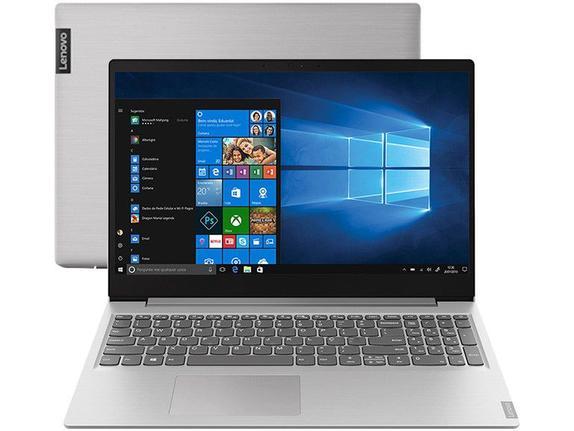 "Ultrabook - Lenovo 81s9000lbr I5-8265u 1.60ghz 8gb 256gb Ssd Geforce Mx110 Windows 10 Home Ideapad S145 15,6"" Polegadas"