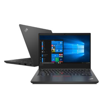"Notebook - Lenovo 20rb000mbr I3-10110u 2.10ghz 8gb 1tb Padrão Intel Hd Graphics Windows 10 Professional Thinkpad E14 14"" Polegadas"