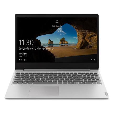 """Notebook - Lenovo 81xm0002br I3-8130u 2.20ghz 4gb 1tb Padrão Intel Hd Graphics 620 Windows 10 Home Ideapad S145 15,6"""" Polegadas"""