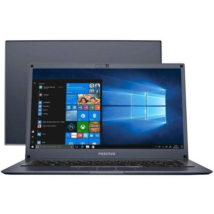 "Notebook - Positivo Q432b Atom X5-z8350 1.44ghz 4gb 32gb Ssd Intel Hd Graphics Windows 10 Home Duo 14"" Polegadas"
