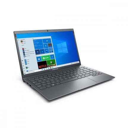 "Notebook - Positivo Q464c Atom X5-z8350 1.44ghz 4gb 64gb Híbrido Intel Hd Graphics Windows 10 Home Motion 14"" Polegadas"